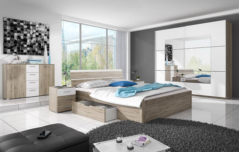 Спалня, в която има място за всичко