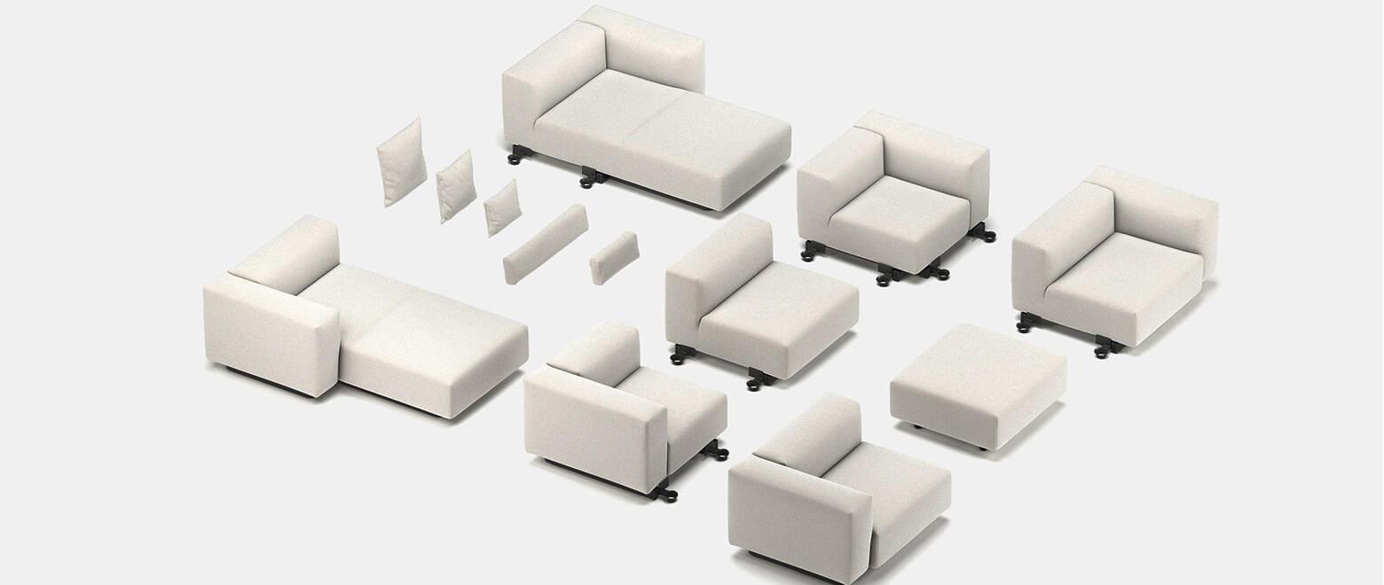 Модерни модулни дивани
